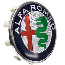 1 COPRIMOZZO ALFA ROMEO MITO 147 GT 156  CERCHI LEGA STEMMA HUB CAP