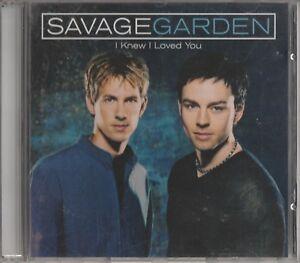 Savage Garden - I Knew I Loved You **1999 Australian 2 Track CD Single** VGC