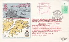 Rare AC4a The Task Force to the Falkland Islands Red Flight Cachet Not Stuck on
