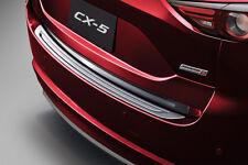 GENUINE Rear Bumper Step Plate Garnish PROTECT SCRATCH New Mazda CX-5 2017-18 G2