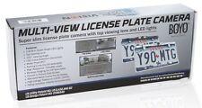 Boyo VTL405HDL Chrome License Plate Bar Backup Camera, Night Vision/HD/Top View