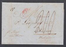 US, 1847 Stampless Transatlantic SFL New York to Holland, per ship Argo