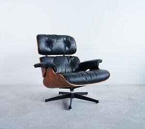 * Contura Herman Miller Vitra Ray & Charles Eames Lounge Chair Palisander TOP *