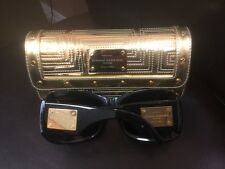 Gianni Versace Ultimate Limited Edition Sunglasses With 18kt Plaques