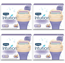 Schick Intuition Dry Skin With Coconut Milk & Almond Oil, 12 Cartridges