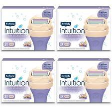 Schick Intuition сухой кожи с кокосовым молоком и миндальное масло, 12 картриджей
