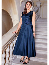 Elegantes Abend-Kleid sheego Style. Marine. NEU!!! KP 139,99 € SALE%%%