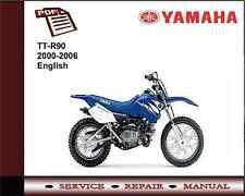 Yamaha TT-R 90 TTR90 2000 - 2006 Workshop Service Repair Manual