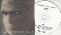 PHAROAHE MONCH Desire UK 14-trk numbered/watermarked promo test CD