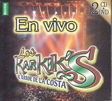 Los Karkiks El Terror De La Costa CD+DVD New Sealed