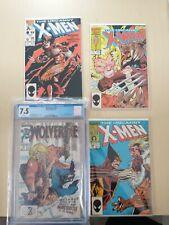 Marvel Comics Wolverine #10 CGC 7.5, Uncanny X-Men #212 & #213, #222