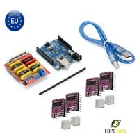 Arduino UNO R3 & CNC Shield V3.0 & DRV8825 Treiber