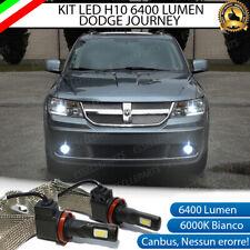 KIT FULL LED DODGE JOURNEY LAMPADE H10 FENDINEBBIA CANBUS 6400L 6000K NO ERROR