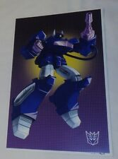 G1 Transformers Decepticon Shockwave Poster 11x17 Box Art Grid Freeshipping