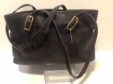 VERY RARE AUTHENTIC COACH HANDBAG CLASSIC BLACK M1D-9813 11x7.5x4 Inch w/ Tag