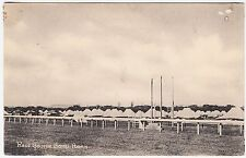 POONA - India - Horse Race Course Military Camp - c1900s era postcard
