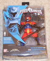 Power Rangers Super Ninja Steel 12.5cm Lion Fire Blue Ranger Figure - New- 43938