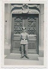Foto Soldat-Paradewaffenrock-Seitengewehr   2.WK  (B358)