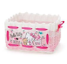 Cute Hello Kitty Desk Storage Box Receiving Basket For Underwear Snacks Tool