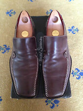 OLIVER SWEENEY MEN'S SHOES BROWN LEATHER LOAFERS MOCCASIN UK 8 US 9 EU 42