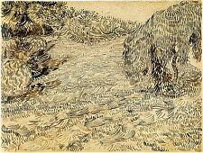Van Gogh Drawings: Garden Corner, Place Lamartine, for Theo - Fine Art Print
