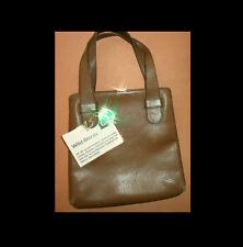 GOLDPFEIL Handtasche LEDER Ledertasche LUXUS Edelmanufaktur BISON Ledertasche #