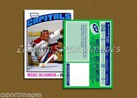 Michel Belhumeur - Washington Capitals - Custom Hockey Card  - 1975-76