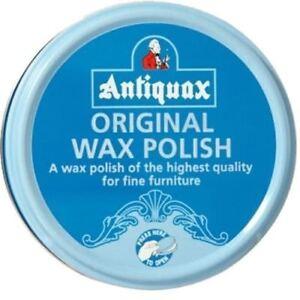 ANTIQUAX ORIGINAL WAX POLISH 100ML TIN - HIGH QUALITY FOR FINE FURNITURE