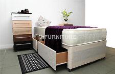 3ft Single Divan Bed, Storage and 25cm Deep Orthopaedic Mattress! FACTORY SHOP!
