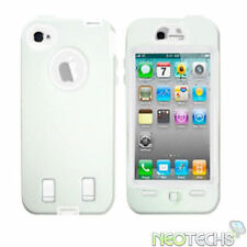 Étuis, housses et coques avec clip blanc iPhone 4s pour téléphone mobile et assistant personnel (PDA)