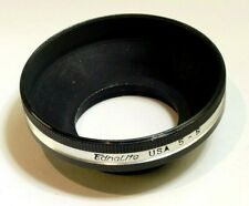Ednalite 33mm series 5 V Metal Lens Hood Shade screw in for 33.3mm wide angl