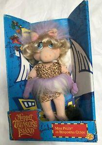 "Miss Piggy Muppet Treasure Island 14"" Doll New In Box 1995"