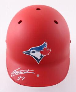 Vladimir Guerrero Jr Tor Blue Jays Autographed & Authenticated Full Size Helmet
