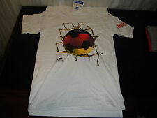 1998 WORLD CUP FRANCE FIFA SZ ADULT LARGE COTTON SOCCER FUTBOL T SHIRT / GERMANY