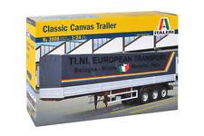 Italeri 3908 1/24 Scale Model Truck Kit Classic Canvas Trailer