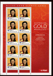 Australia 2008 Beijing Olympic Games Set Of 14 MNH Sheets #V2586