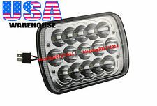 "1X 7x6"" LED CREE LIGHT BULBS CRYSTAL CLEAR SEALED BEAM HEADLAMP HEADLIGHT 45W"