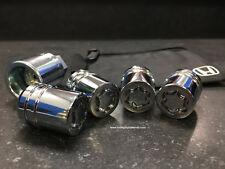 Genuine Honda Wheel Lock Set OEM! NEW! 08W42-SNA-100 - 1 key, 4 locks, lock bag