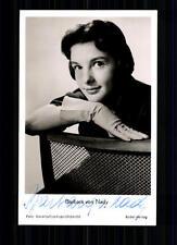 Barbara von Nady Rüdel  Autogrammkarte Original Signiert TOP## BC 884