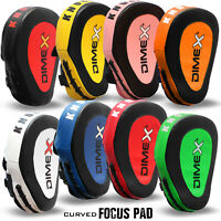 Boxing Focus Pads Hook and Jab Kick MMA Training Punching Gloves Curved Pair