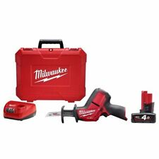 Fuel Reciprocating Saw Kit Power Tool Equipment Milwaukee 12v 4.0ah M12CHZ401C