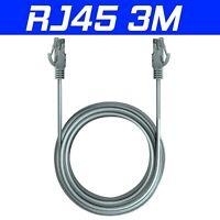 3m RJ45 Cat6 Gigabit Ethernet LAN Network Patch ADSL Router 1000Mbps UTP Cable