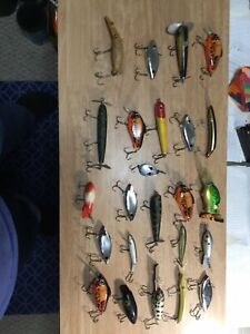 Mixed Lot Of 24 Fishing Lures( New& Vintage)