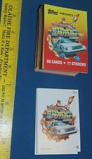 Back to the Future II complete card & sticker set - Topps