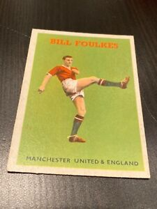 A&BC - FOOTBALLER (no. 21 BILL FOULKES - Manchester United)  - 1958