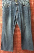Versace Couture Vintage Jeans Denim Ittierre Made Italy Size 38