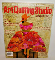 Art Quilting Studio Winter 2021 75+ Mixed Media Quilts National Parks Magazine