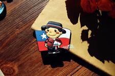 Chile Flag Little Boy Tourist Travel Souvenir 3D Rubber Fridge Magnet GIFT IDEA