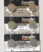 6 x Energizer LR44 AG13 357 357A A76 303 L1154 1.5v Alkaline Batteries From USA