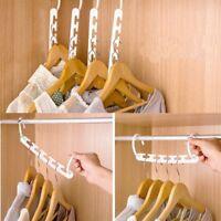 Magic Wonder Space Saving Hanger Clothing Storage Rack Closet Organizer Hook